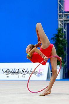 Olena Diachenko (Ukraine), junior, World Cup (Pesaro) 2016