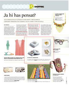 ¡Para el Día de la Madre, Què fem? de La Vanguardia recomendaba nuestro The Tapas Kit como regalo!