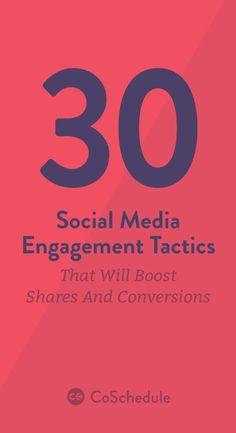 Social analytics is now part of your CoSchedule calendar! http://coschedule.com/blog/social-media-engagement-tactics/?utm_campaign=coschedule&utm_source=pinterest&utm_medium=CoSchedule&utm_content=21%20Social%20Media%20Engagement%20Tactics%20To%20Grow%20Audience
