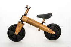 Bamboocycles Biciniño.  - Bamboo trainer bike