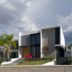 Casa V by Ricardo Agraz, via Behance