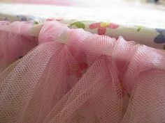 A tutu for your bed? Oh, I know a little girl who would love this.
