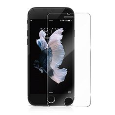 LENDOO 47 Inches iPhone 7 6 6S Tempered Glass Screen Protector by 025mm 9H HD Ultra Clear AntiScratch Resistant Protective Shield for Apple iPhone 7 iPhone 6S iPhone 6 >>> Click on the image for additional details.