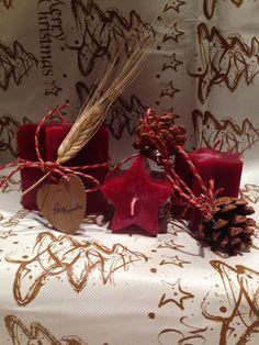 Stella  Candela natalizia di GioCandles su Etsy
