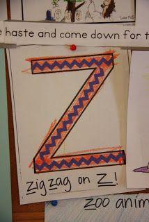 zig zag on Z