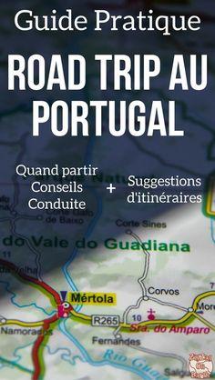 Portugal Voyage - Guide pratique pour planifier votre Road Trip au Portugal avec des conseils et des suggestions d'itinéraires au Portugla pour 1 semaine, 10 jours où plus | Portugal itinéraire | Portugal vacances