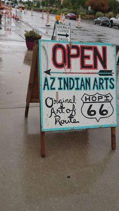 Route 66, Holbrook Arizona, Indian Art, Sidewalk, Indian Artwork, Indian Paintings, Side Walkway, Walkway, Walkways