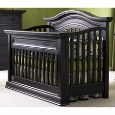 Best Babi Italia Parrish Lifetime Crib Vintage Black Babi 400 x 300