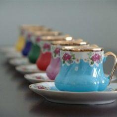 Kahve Fincanları - turkish coffee cups