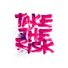 Brush Rush-3 on Behance. Pink paint lettering