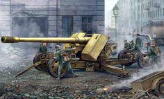 Немецкая тяжелая противотанковая пушка PaK 44