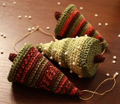 christmas tree: crochet tutorial