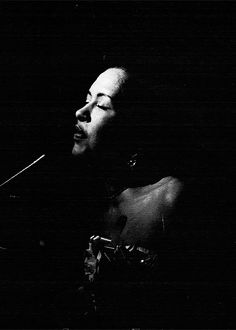 "hennyproud: ""Billie Holiday by Jerry Dantzic, 1957 """