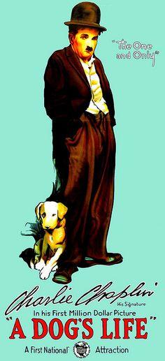 A Dog's Life with Charlie Chaplin - via Greenman 2008 - Joseph Black