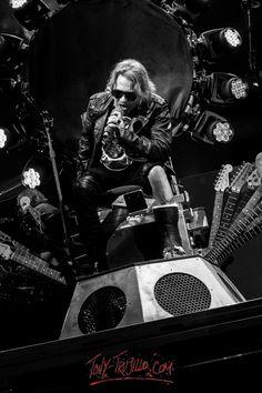 Axl Rose of Guns N' Roses, T-Mobile Arena, Las Vegas, April 2016 - Photos by Tony Trujillo #axlrose #gnr #gunsnrosesreu…
