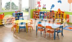 Preschool Rooms, Daycare Rooms, Preschool Classroom, Classroom Decor, Kindergarten Interior, Kindergarten Design, Daycare Design, School Design, Baby Playroom
