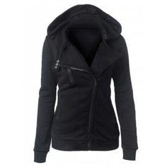 a4d959e1925 Gamiss Hot Female Sweatshirts Autumn Winter Long Sleeve Hoodies Warm Casual  Turn-Down Collar Zipper Button Design Women Hoodie
