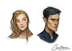 OMG RHYS AND FEYRE LOOK SO BEAUTIFUL MY BABIES OTP FOR LIFE. sorry I fangirled a little