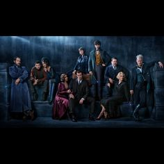 A closer look at the characters of #FantasticBeasts: The Crimes of Grindelwald