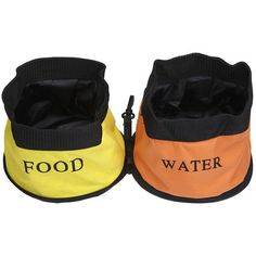 I pinned this 2 Piece Bella Travel Pet Bowl Set from the Pampered Pet event at Joss and Main!