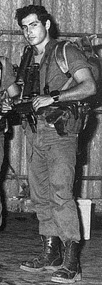 Prime Minister Benjamin Netanyahu during his IDF days.