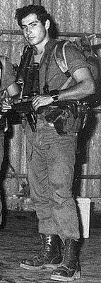 Prime Minister Benjamin Netanyahu during his IDF days.