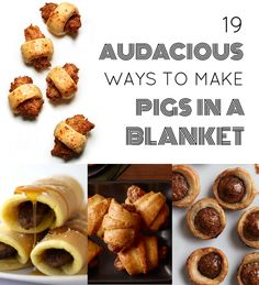 Important: April 24 is national Pigs in a Blanket Day. | 19 Audacious Ways To Make Pigs In A Blanket