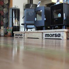 Morso Woodburning Stoves in the showroom in Wadebridge Cornwall
