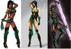 I have decided on the jade from mortal combat costume!!!! :)