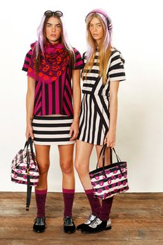 Marc by...love the graphic patterns. V. late 80's early nineties. Maybe it's time for a Stephen Sprouse revival (again)