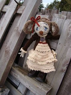 Ravelry: Little Mouse in the City-Secret Girl KAL pattern by Deena Thomson-Menard