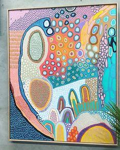Indigenous Australian Art, Aboriginal Art, Pattern Art, Painting Inspiration, Art Lessons, Zentangle, Painting & Drawing, Art Projects, Art Drawings