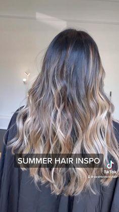 Silver Blonde Hair, Going Blonde, Bleached Hair, Blonde Balayage, Hair Highlights, Summer Hairstyles, Hair Inspo, Hair Hacks, Hair Colors