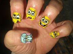 Character nails is wonderful. | MiCHi MALL