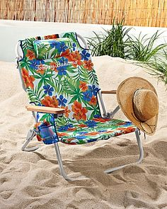 Tommy Bahama - Happy Hawaii Deluxe Backpack Beach Chair