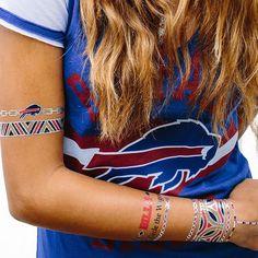 Buffalo Bills Metallic Fashion Tattoos - $11.99