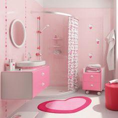Girls bathroom design girls bathroom decor girls bathroom design impressing cute girly bathroom decor ideas in . Asian Bathroom, Bathroom Kids, Small Bathroom, Modern Bathroom, Serene Bathroom, Pink Bathroom Decor, Cute Bathroom Ideas, Bathroom Designs, Pink Bathrooms