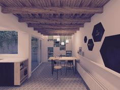 3D image of our kitchen - IN.TACT ontwerpstudio