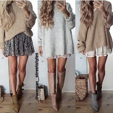 tojajoanna oder - Style - Source by skiyandeksnet casual outfits Cute Fall Outfits, Winter Fashion Outfits, Fall Winter Outfits, Look Fashion, Autumn Winter Fashion, Womens Fashion, Fall Skirt Outfits, Winter Ootd, Fall Dresses