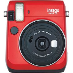 Fujifilm Instax Mini 70 - Instant Film Camera (Red) -- Read more reviews of the product by visiting the link on the image.