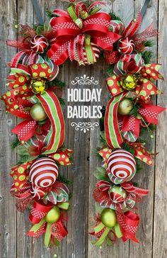 Grinch Christmas, Christmas Porch, Christmas Tree Ornaments, Christmas Wreaths, Christmas Decorations, Holiday Decorating, Whimsical Christmas Trees, Types Of Christmas Trees, Holiday Tree