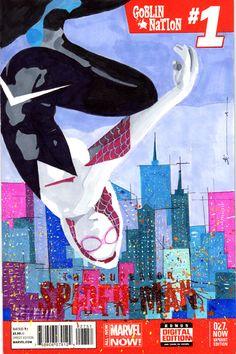 Spider-Gwen by Sean Anderson