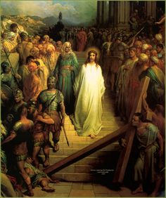 Christ Leaving the Praetorium, Gustave Dore
