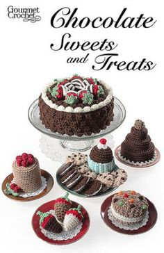 Picture of Chocolate Sweets and Treats Pattern