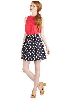 See You Round Skirt | Mod Retro Vintage Skirts | ModCloth.com