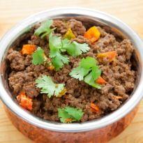 Dhabhe da Keema  (Spicy Minced Mutton)      - NDTV
