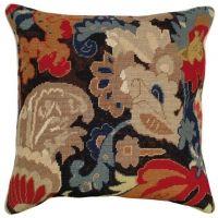 Needlepoint Tudor Oriental I Pillow