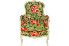 French Victorian Armchair this is on sale at our shop on One Kings Lane https://www.onekingslane.com/shop/missionavestudio