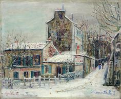 Maurice Utrillo. Cabaret Lapine Agile, Monmatre. 1930. Oil on canvas. National Museum in Belgrade, Serbia. Photo: © www.terminartors.com