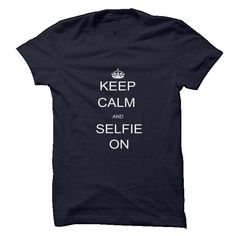 Keep Calm and Selfie On Mens and Womens Tee Black T-Shirt Hoodie Sweatshirts aie. Check price ==► http://graphictshirts.xyz/?p=52692